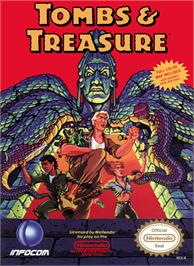 Box cover for Tombs & Treasure on the Nintendo NES.