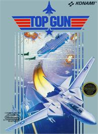 Box cover for Top Gun: The Second Mission on the Nintendo NES.