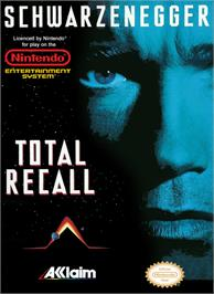 Box cover for Total Recall on the Nintendo NES.
