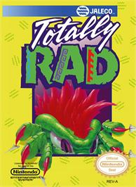 Box cover for Totally Rad on the Nintendo NES.
