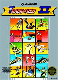 Box cover for Track & Field 2 on the Nintendo NES.