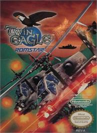 Box cover for Twin Eagle - Revenge Joe's Brother on the Nintendo NES.