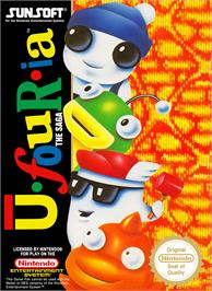 Box cover for Ufouria: The Saga on the Nintendo NES.