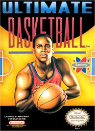 Box cover for Ultimate Basketball on the Nintendo NES.