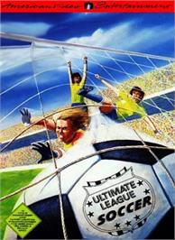 Box cover for Ultimate League Soccer on the Nintendo NES.