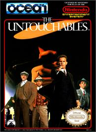 Box cover for Untouchables on the Nintendo NES.