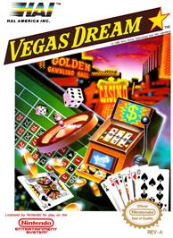 Box cover for Vegas Dream on the Nintendo NES.