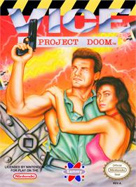 Box cover for Vice: Project Doom on the Nintendo NES.