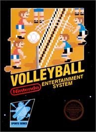 Box cover for Volley Ball on the Nintendo NES.