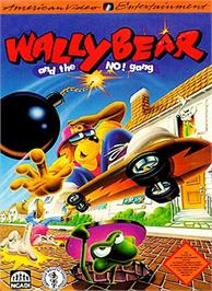 Box cover for Wally Bear and the NO! Gang on the Nintendo NES.