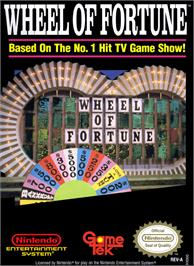 Box cover for Wheel Of Fortune: Featuring Vanna White on the Nintendo NES.