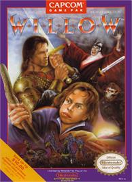Box cover for Willow on the Nintendo NES.