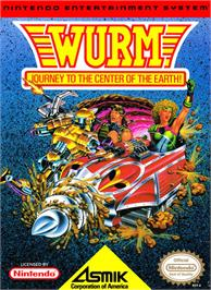 Box cover for Wurm: Journey to the Center of the Earth on the Nintendo NES.