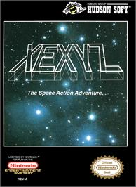 Box cover for Xexyz on the Nintendo NES.