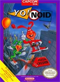 Box cover for Yo! Noid on the Nintendo NES.