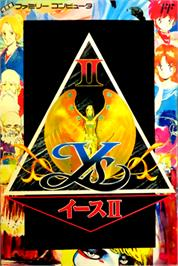Box cover for Ys II: Ancient Ys Vanished: The Final Chapter on the Nintendo NES.