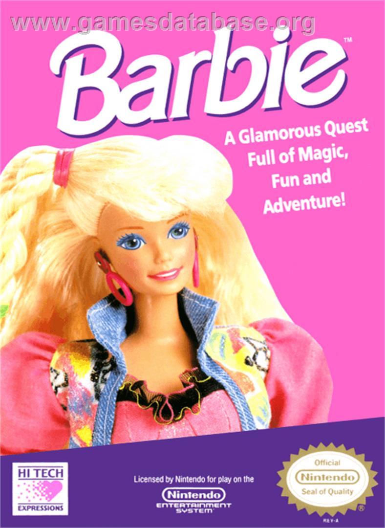 barbie nintendo nes games database