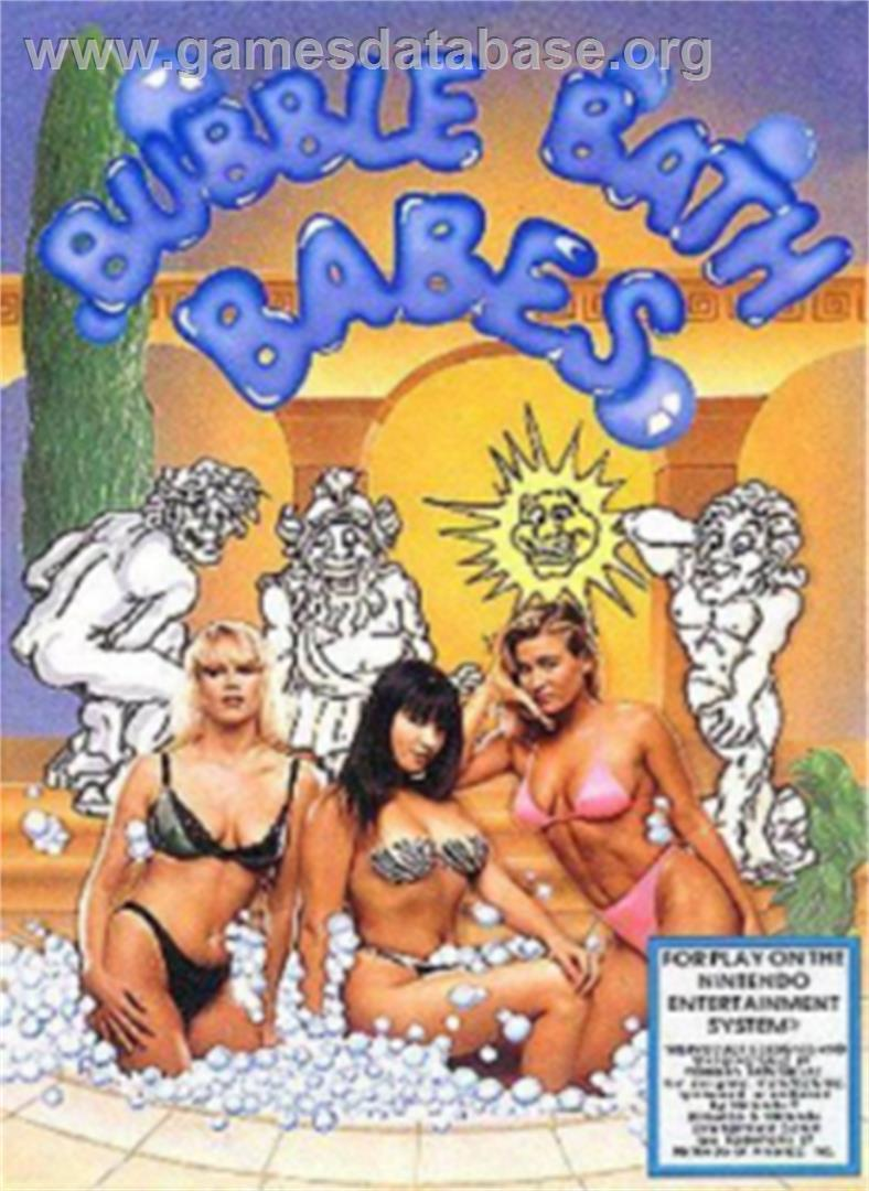 Bubble Bath Babes - Nintendo NES - Artwork - Box