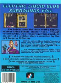 Box back cover for Mermaids of Atlantis: A Riddle of a Magic Bubble on the Nintendo NES.
