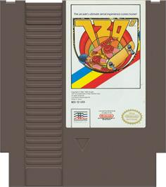 Cartridge artwork for 720 Degrees on the Nintendo NES.