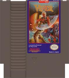 Cartridge artwork for Code Name: Viper on the Nintendo NES.