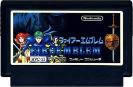 Cartridge artwork for Fire Emblem Gaiden on the Nintendo NES.