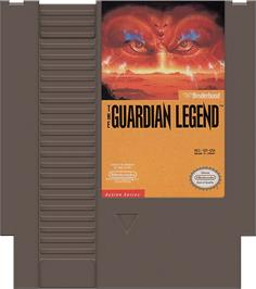 Cartridge artwork for Guardian Legend on the Nintendo NES.