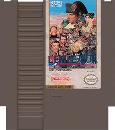 Cartridge artwork for L'Empereur on the Nintendo NES.