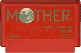 Cartridge artwork for Mother on the Nintendo NES.