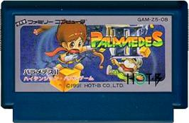 Cartridge artwork for Palamedes II: Star Twinkles on the Nintendo NES.