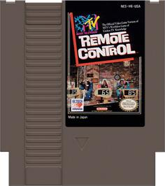Cartridge artwork for Remote Control on the Nintendo NES.