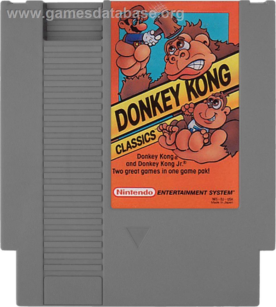 donkey kong classics nintendo nes games database. Black Bedroom Furniture Sets. Home Design Ideas