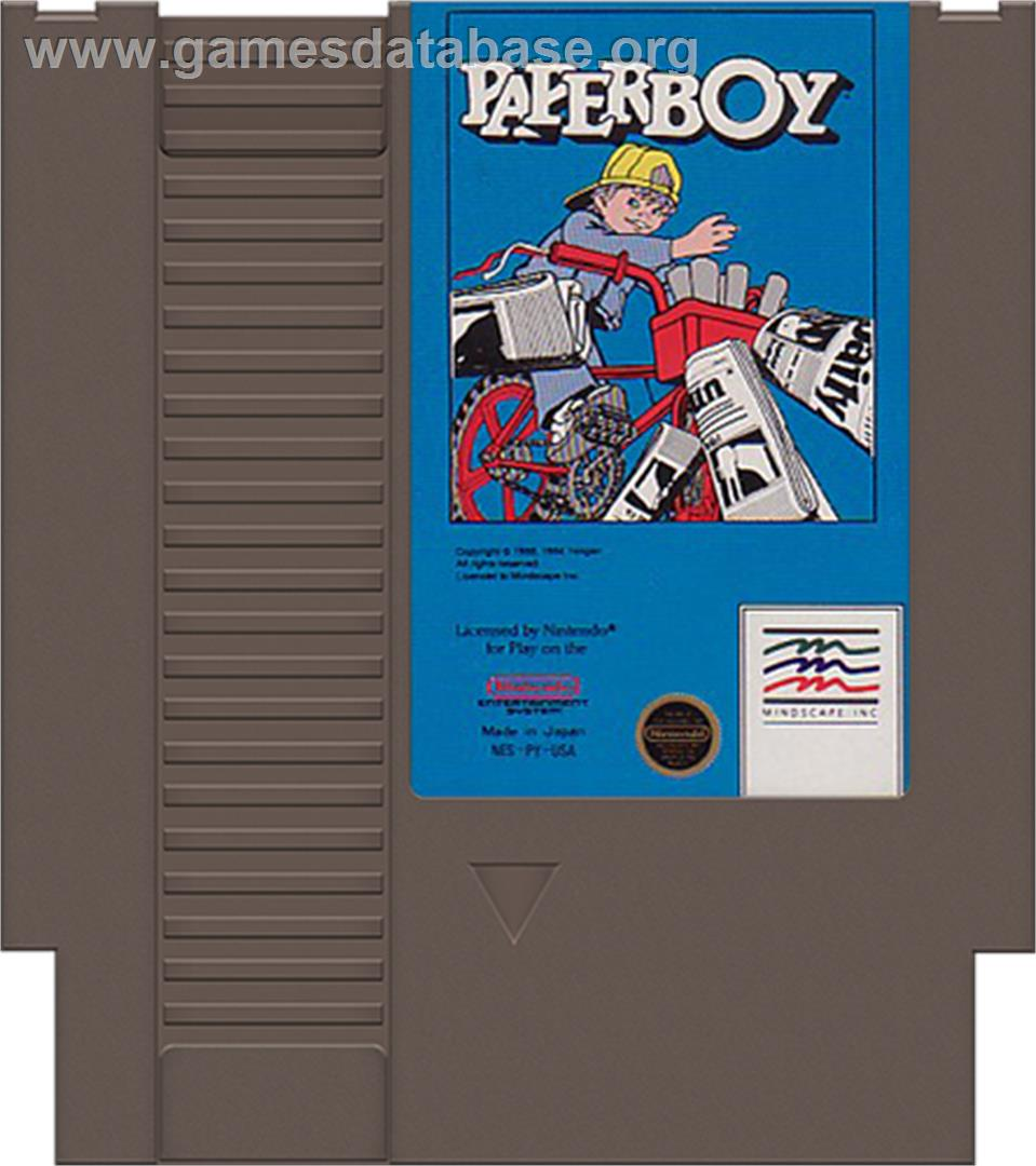 Paperboy Nintendo Nes Games Database