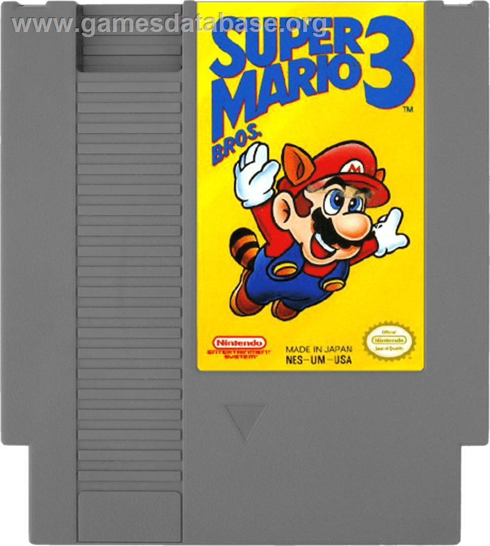 Super Mario Bros 3 Nintendo Nes Artwork Cartridge