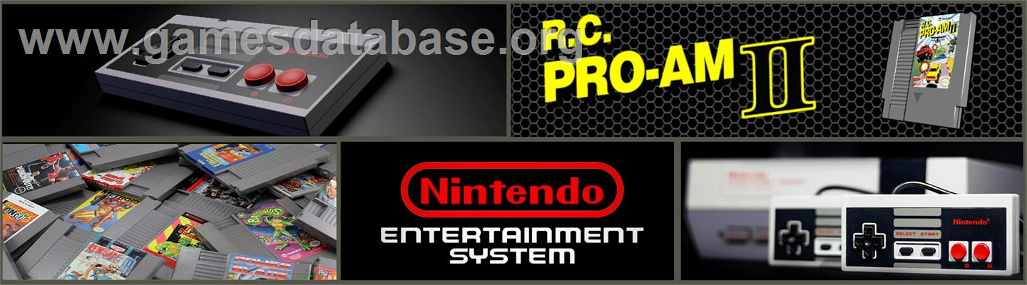 R.C. Pro-Am 2 - Nintendo NES - Artwork - Marquee