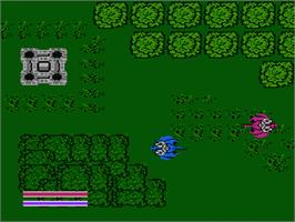 In game image of Action 52 on the Nintendo NES.