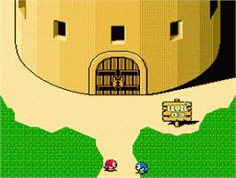 In game image of Adventures of Lolo  3 on the Nintendo NES.