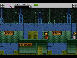 In game image of Adventures of Rad Gravity on the Nintendo NES.