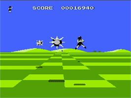 In game image of Attack Animal Gakuen on the Nintendo NES.
