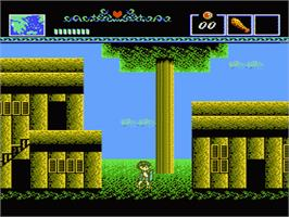 In game image of Battle of Olympus on the Nintendo NES.