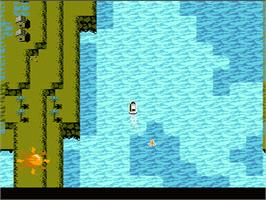 In game image of Blue Marlin on the Nintendo NES.
