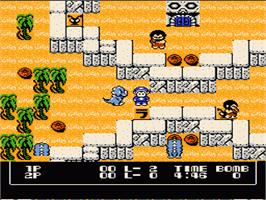 In game image of Booby Kids on the Nintendo NES.