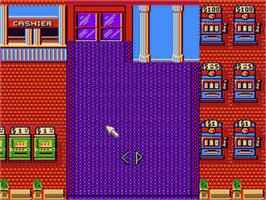 In game image of Caesar's Palace on the Nintendo NES.