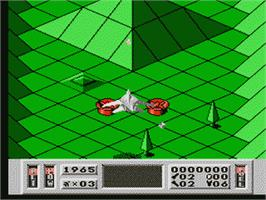 In game image of Captain Sky Hawk on the Nintendo NES.