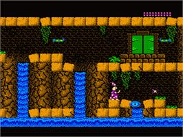 In game image of Castle of Deceit on the Nintendo NES.