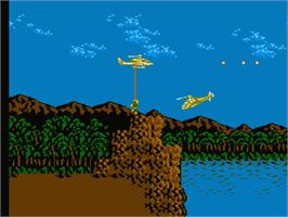 In game image of Cobra-Command on the Nintendo NES.