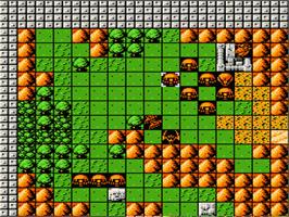 In game image of Dai-2-ji Super Robot Taisen on the Nintendo NES.