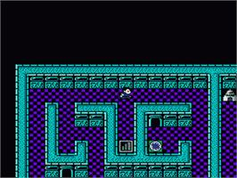 In game image of Digital Devil Monogatari: Megami Tensei 2 on the Nintendo NES.