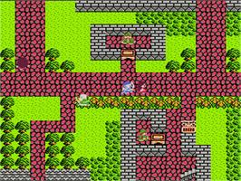 In game image of Dragon Warrior 3 on the Nintendo NES.