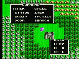 In game image of Dragon Warrior 4 on the Nintendo NES.